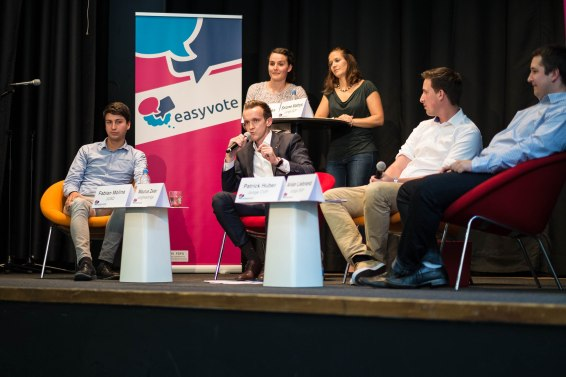 Podiumsdiskussion im Wahlkampf 2015